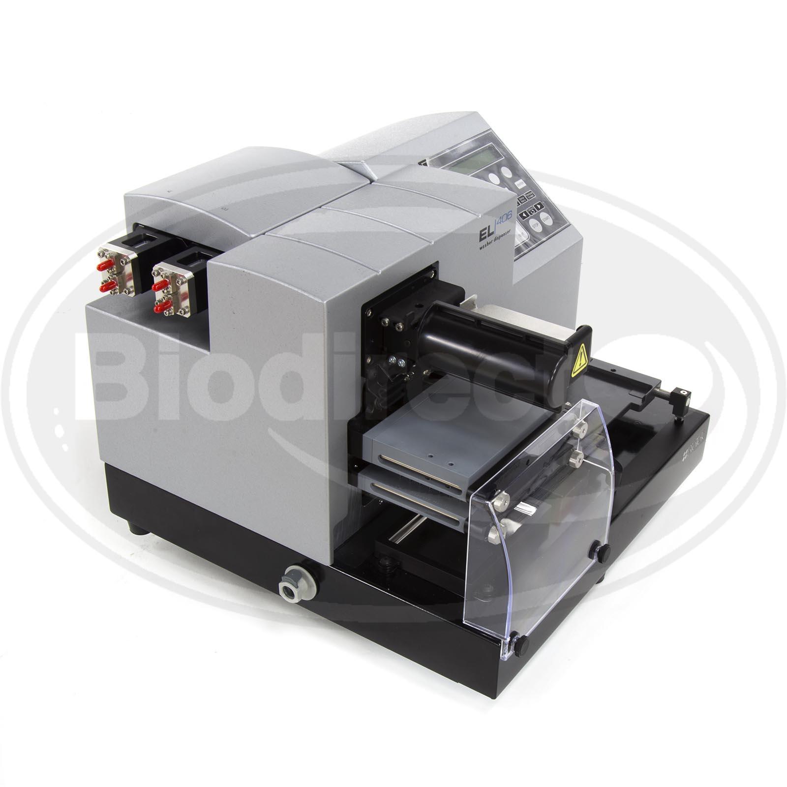 Used Biotek Instruments Microplate Washer El406 For Sale
